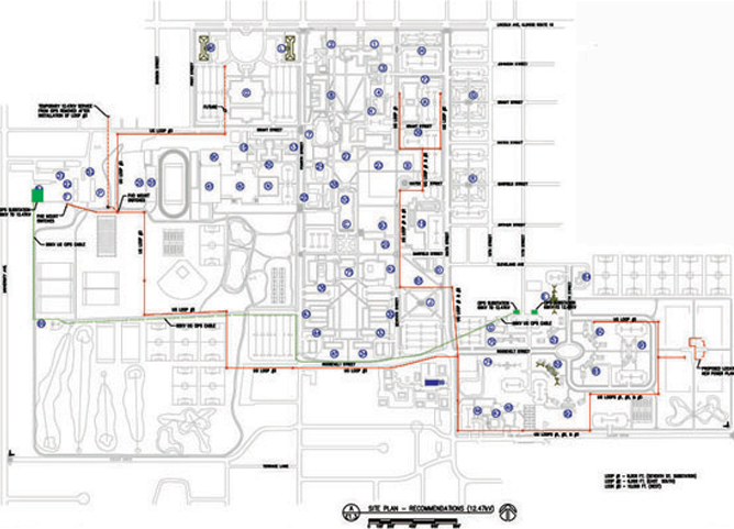 electrical distribution master plan  eastern illinois